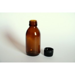 Amber Glass Bottle 125ml